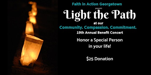 19th Annual Faith In Action Benefit Concert Luminary