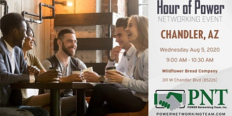 08/05/20 - PNT Chandler - Hour of Power Networking Event tickets