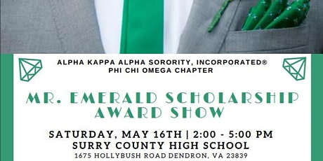 Mr. Emerald Scholarship Award Show 2019-2020 tickets