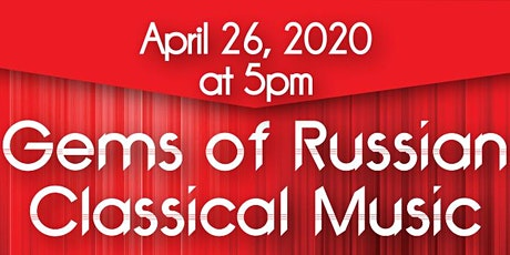 Gems of Russian Classical Music  tickets
