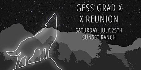 GESS 2010 - 10 yr Reunion tickets