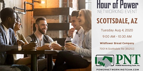 08/04/20 - PNT Scottsdale Central - Hour of Power Networking Event tickets