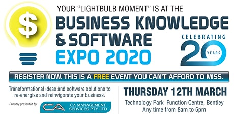 Business Knowledge & Software Expo 2020 tickets