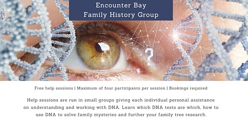 DNA in Family History - Free Help Sessions