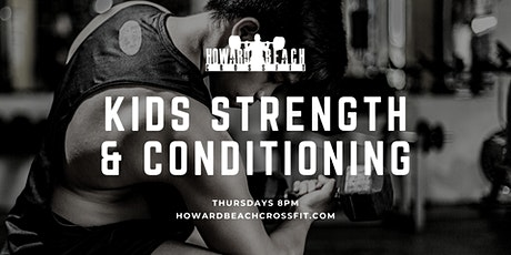 Kids Strength & Conditioning tickets