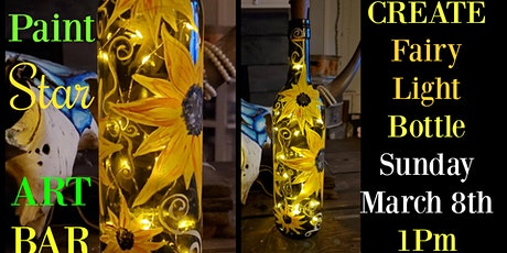 Create & Paint Fairy Light Bottle-Sunday Funday Afternoon tickets