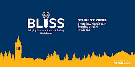 STEM Cafe | BLISS Engineering and Law Panel