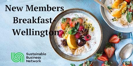 New Members' Breakfast - Wellington tickets