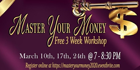 Master Your Money tickets