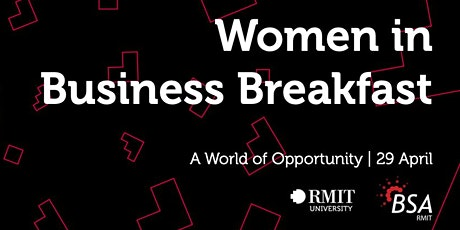 2020 RMIT BSA Women in Business Breakfast tickets