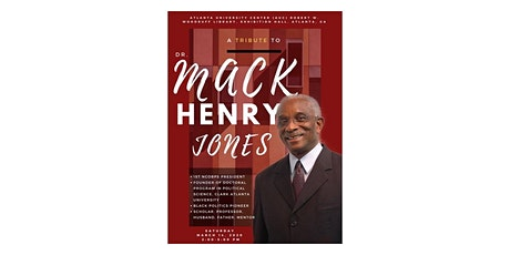 Tribute to Dr. Mack Henry Jones at the 51st NCOBPS Annual Conference tickets