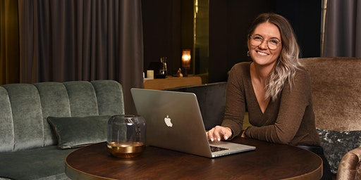 """BUSINESS IN STYLING-PIP+COOP Director """"Lets you into her laptop"""""""