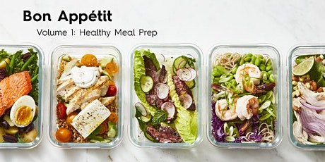 Bon Appetit - Volume 1: Healthy Meal Prep tickets