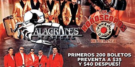 Alacranes Musical y Los Horoscopos de Durango in Yakima boletos