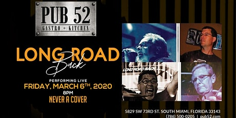 Performing Live March 6th: Long Road Back (No Cover) tickets