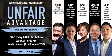 Masters of Success Conference 2020 LIVE In The Heart of Kuala Lumpur City tickets