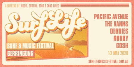 SurfLife Music Festival Gerringong 2020 tickets