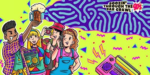 Boozin' Through The 90s Bar Crawl | Raleigh, NC - Bar Crawl Live