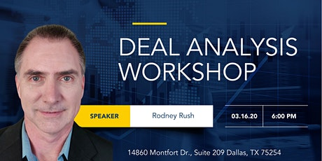 DFW - Deal Analysis Workshop tickets