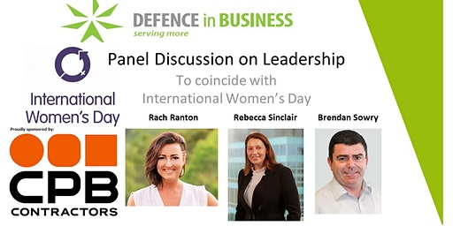 Panel Discussion - Leadership (to coincide with International Women's Day)