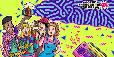 Boozin' Through The 90s Bar Crawl | Richmond, VA - Bar Crawl Live tickets