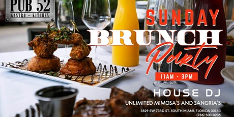 Sunday Brunch Party at Pub 52! Never a Cover tickets