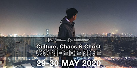 'Culture, Chaos & Christ' Conference 2020 tickets