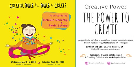 Creative Power, the Power to Create tickets