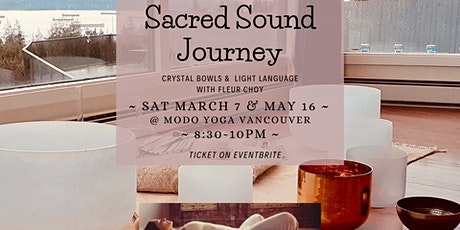 Crystal Bowls Sound Journey at Modo Yoga Vancouver tickets
