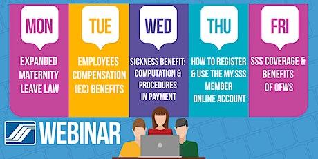 SSS Online Seminar / Webinar tickets