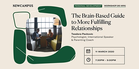 The Brain-Based Guide to More Fulfilling Relationships tickets