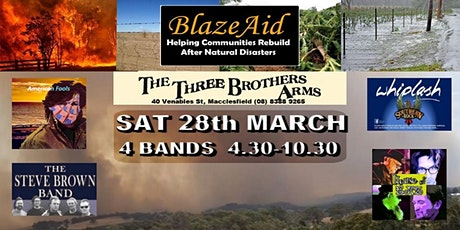 Blaze-Aid Live Music Benefit Concert tickets