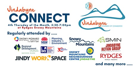 Jindabyne Connect | 4th Thursday of the Month (5:30pm for 6pm) tickets