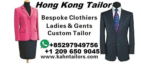 Hong Kong Tailor travelling San Jose Silicone Valley tickets