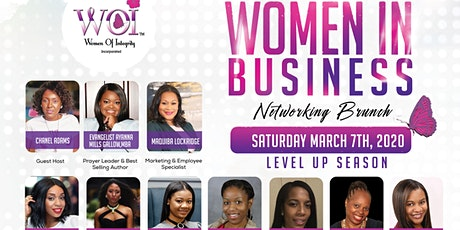 WOI's  5th Annual Women In Business Networking Brunch tickets
