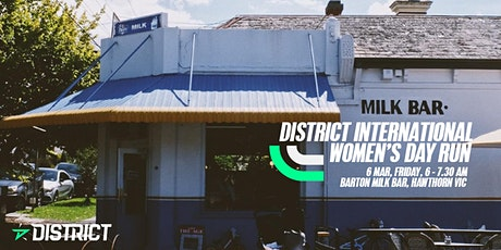 District International Women's Day Run tickets