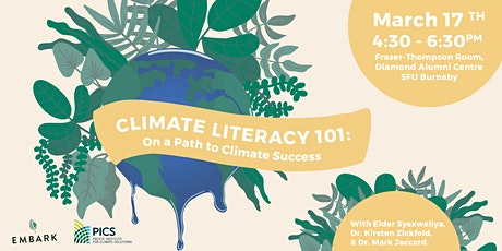 Climate Literacy 101: On a Path to Climate Success tickets