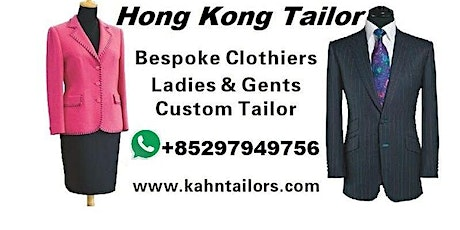 Hong Kong Tailor Travelling Montreal Canada tickets