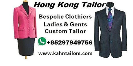 Hong Kong Tailor Travelling Toronto Canada tickets
