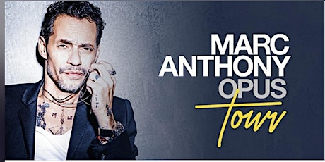 MARC ANTHONY entradas