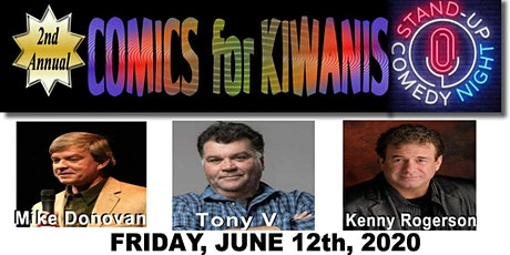 Comics for Kiwanis 2nd Annual tickets