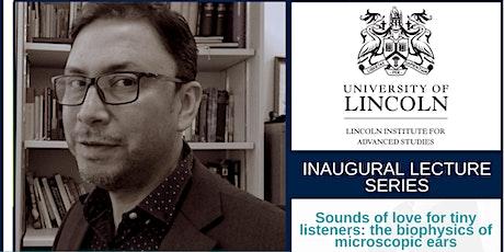 Inaugural Lecture: Prof Fernando Montealegre-Z tickets