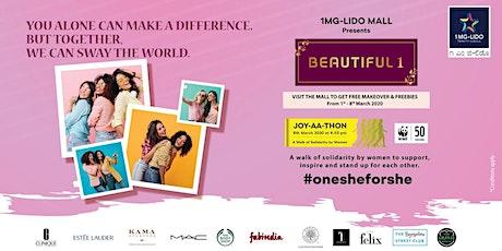 Beautiful 1 - Joy-AA-Thon for International Women's Day  tickets
