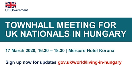 Town Hall Meeting for UK Nationals tickets