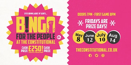 Bingo for the People - POSTPONED tickets