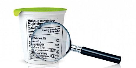 Comment lire les étiquettes alimentaires ? Partie 1 billets
