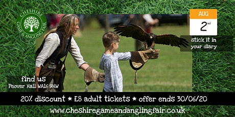 Cheshire Game & Angling Fair 2021 tickets
