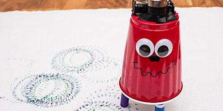 Creiamo un Tremolino: il robot disegnatore stampato 3D biglietti
