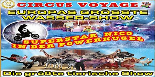 Circus Voyage Familienvorstellung in Eilenburg 2020