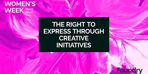 The Right to Express Through Creative Initiatives